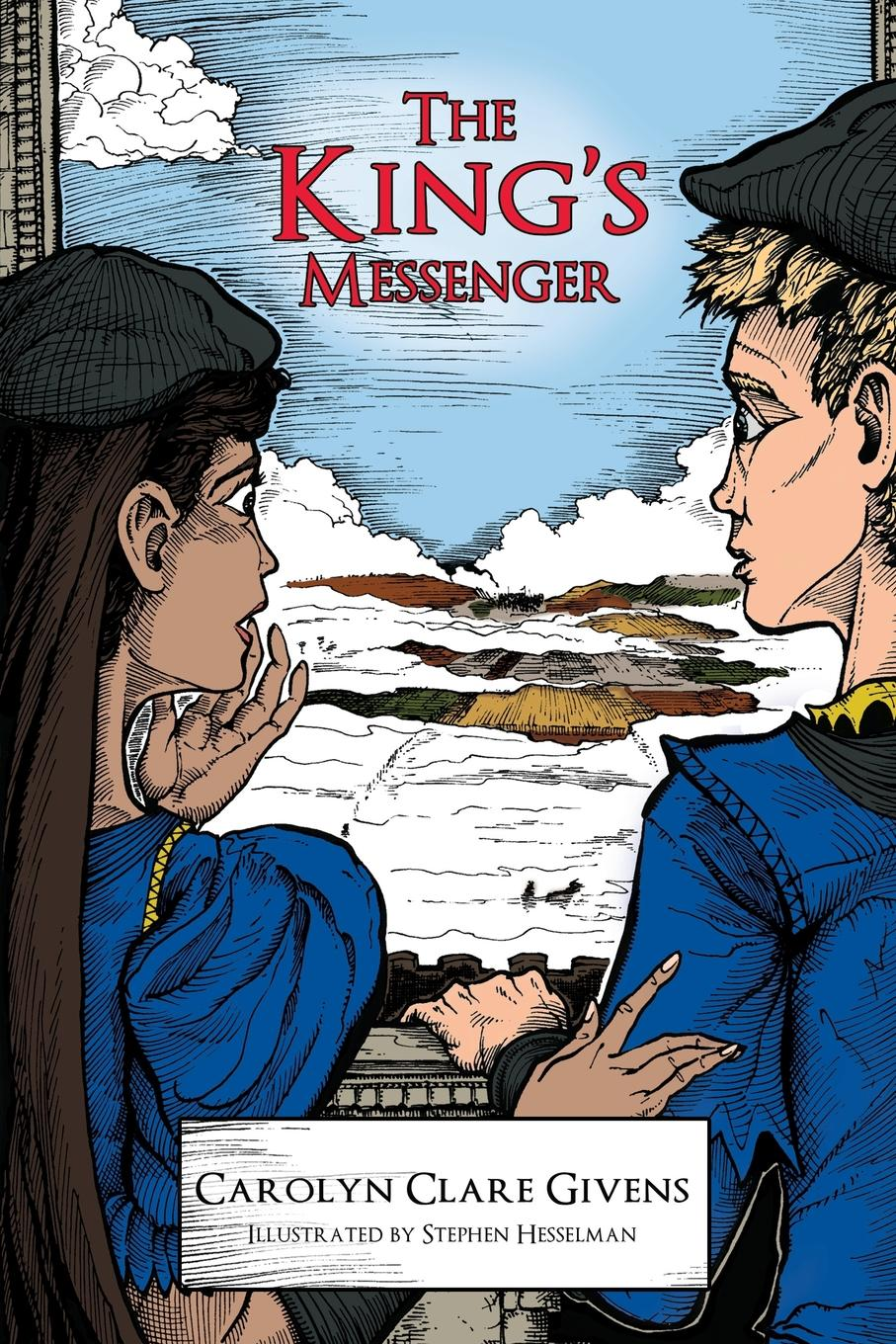 Carolyn Clare Givens The King.s Messenger gillian bagwell the king's mistress