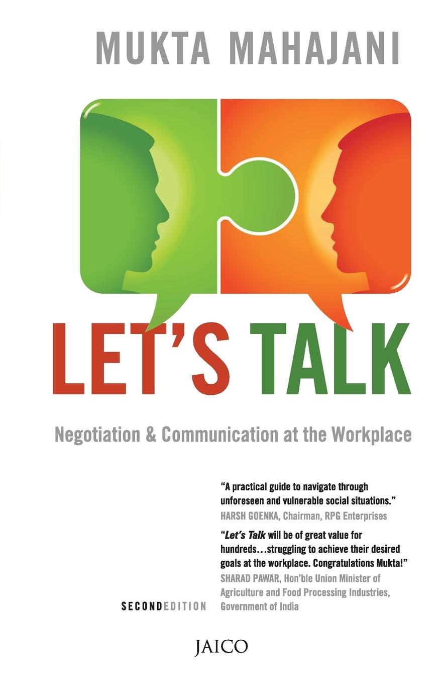 Lets Talk (Second Edition) SECOND EDITIONNegotiation& Communication at the WorkplaceA...