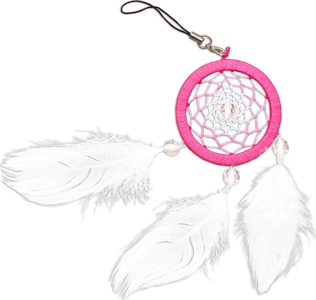 Набор для творчества Созвездие Ловец снов Розовый кварц, 5 х 16 см