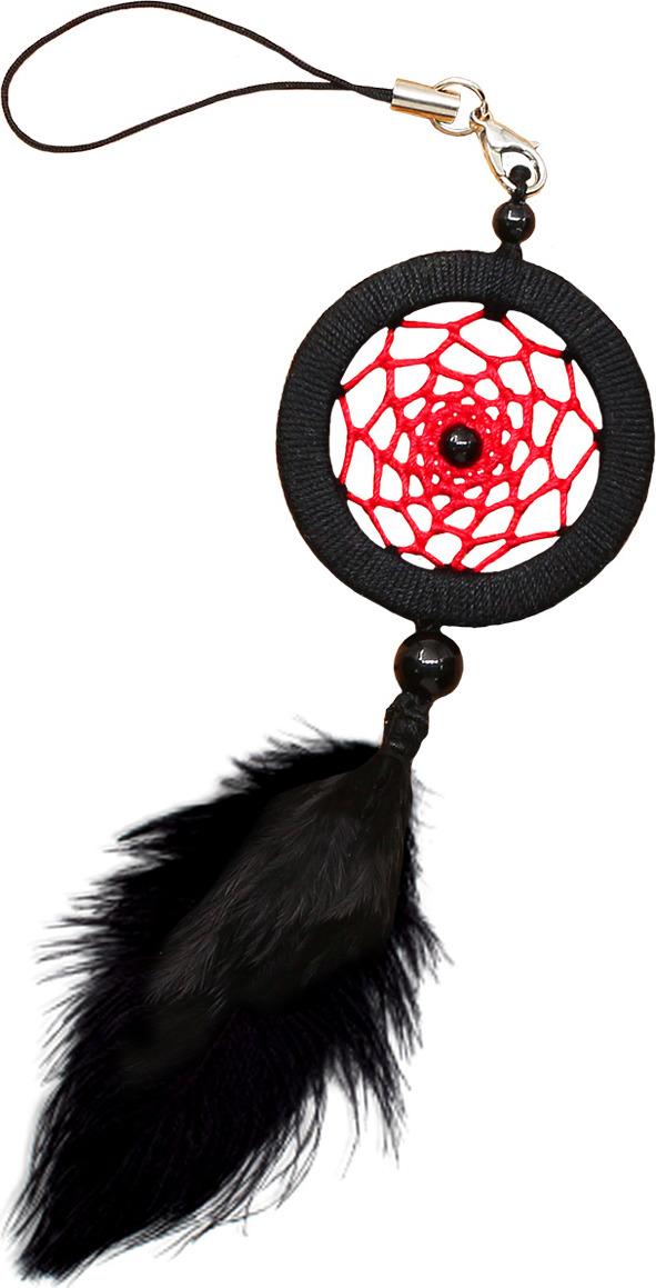 Набор для творчества Созвездие Ловец снов Черный агат, 4 х 12 см