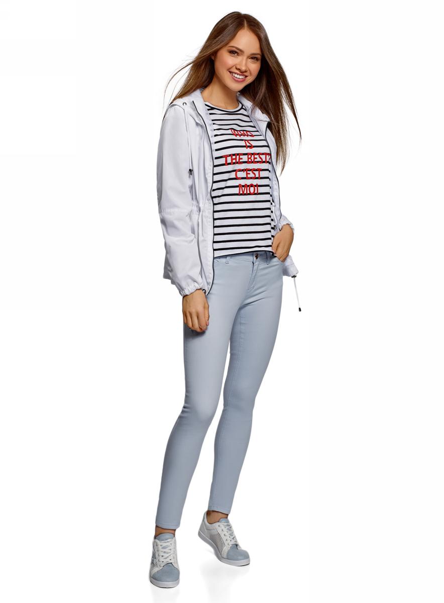 Фото - Джинсы oodji Denim джинсы женские oodji denim цвет красный 12104059b 45491 4500n размер 27 32 44 32