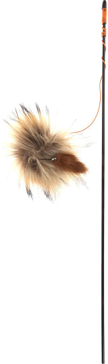 Игрушка для животных GLG Талисман, дразнилка для кошек цвет в ассортименте, общая длина 140 см игрушка дразнилка для кошек glg талисман цвет зеленый черный длина 140 см