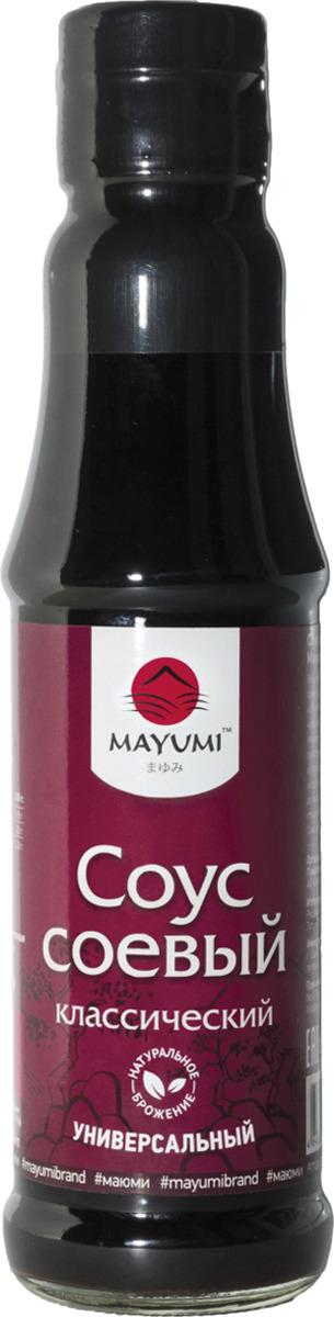 Соус Mayumi Классический соевый, 150 мл соевый соус без клейковины pearl river bridge слабосолёный 150 мл