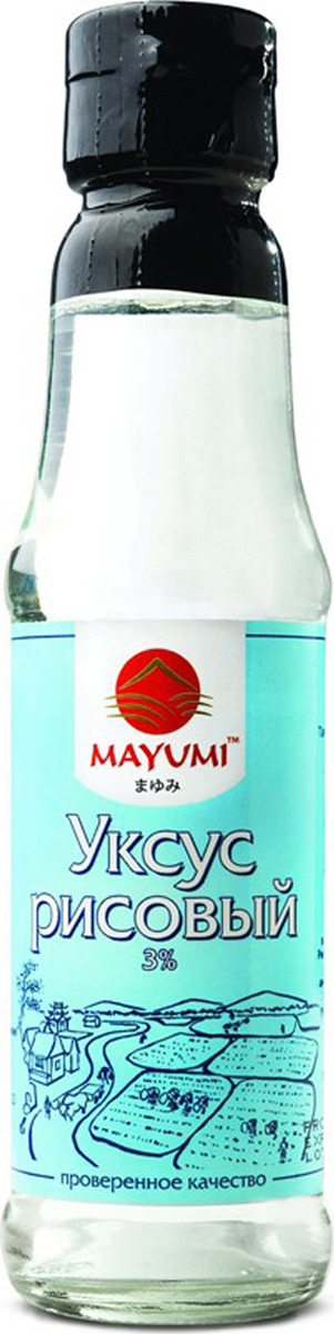 Уксус Mayumi рисовый, 150 мл рисовый уксус pearl river bridge белый 300 мл