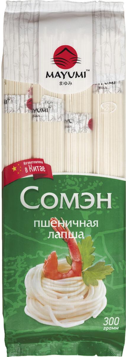 Лапша Mayumi Сомэн пшеничная, 300 г