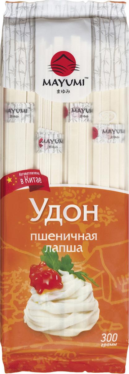 Лапша Mayumi Удон пшеничная, 300 г