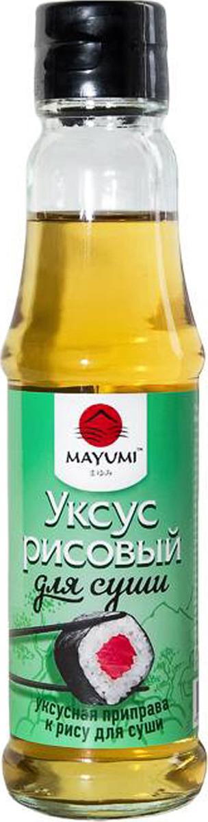 Уксус Mayumi Для суши рисовый, 150 мл рисовый уксус pearl river bridge белый 300 мл