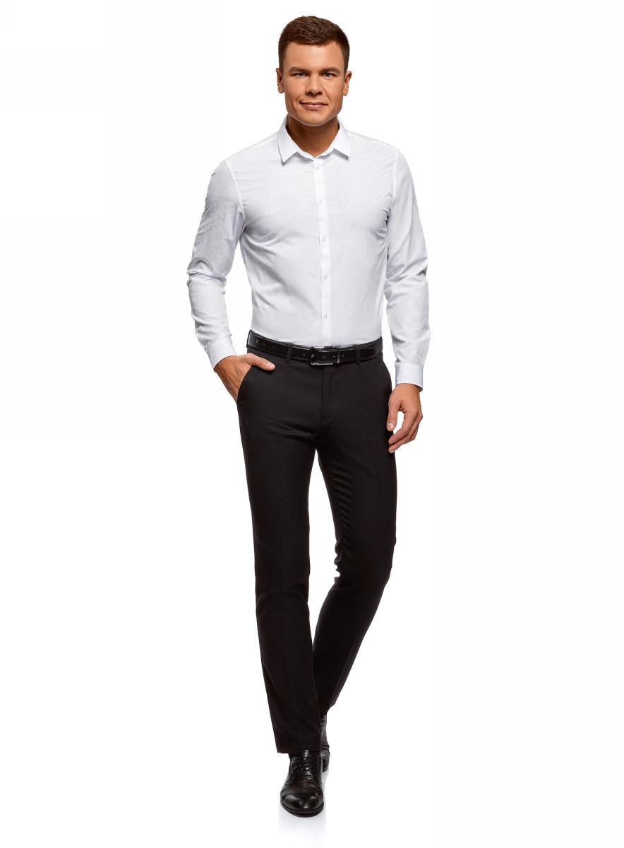 Рубашка oodji рубашка c n c costume national рубашки с отложным воротником