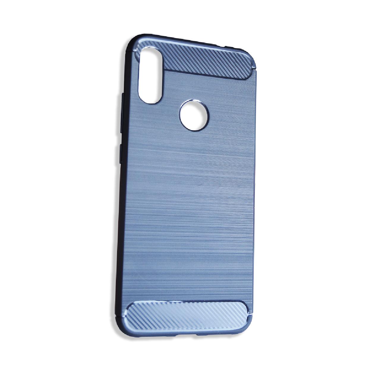 Чехол для сотового телефона Противоударный полиуретановый чехол для Xiaomi Redmi Note 7, темно-синий