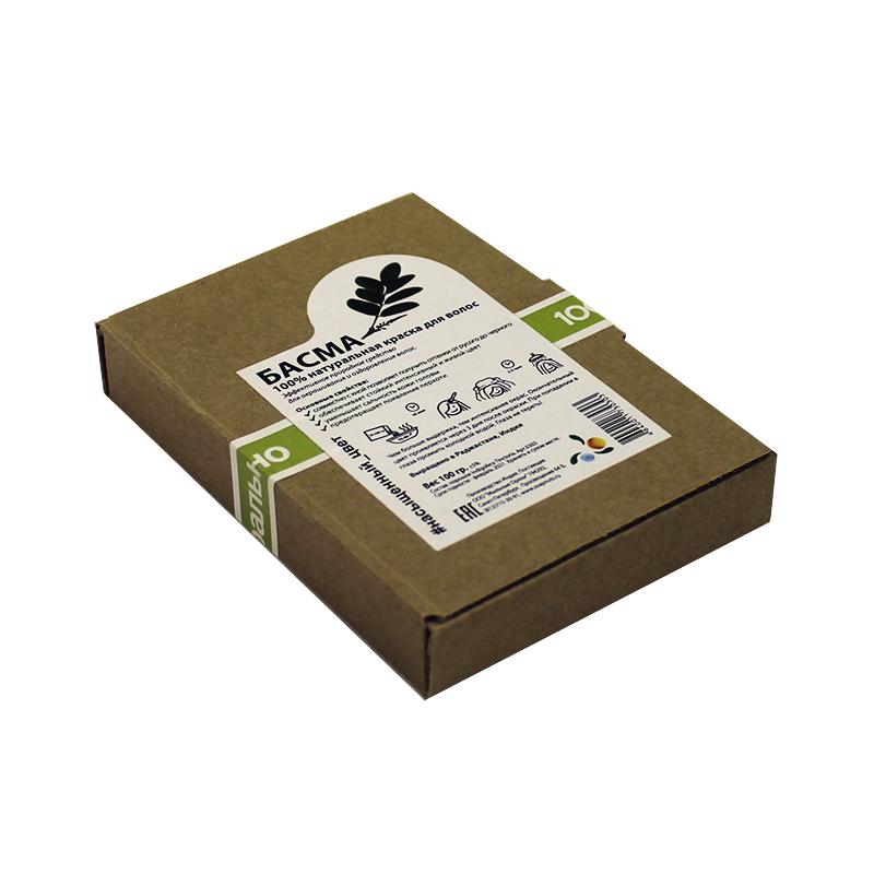 Краска для волос Мыльные Орехи натуральная Басма, 100 гр. цена