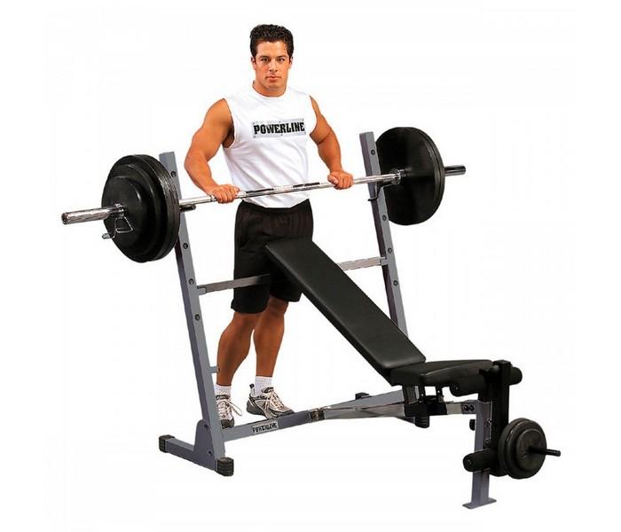 Силовая скамья Body Solid POB44, черный универсальная скамья для жима body solid powerline pob44