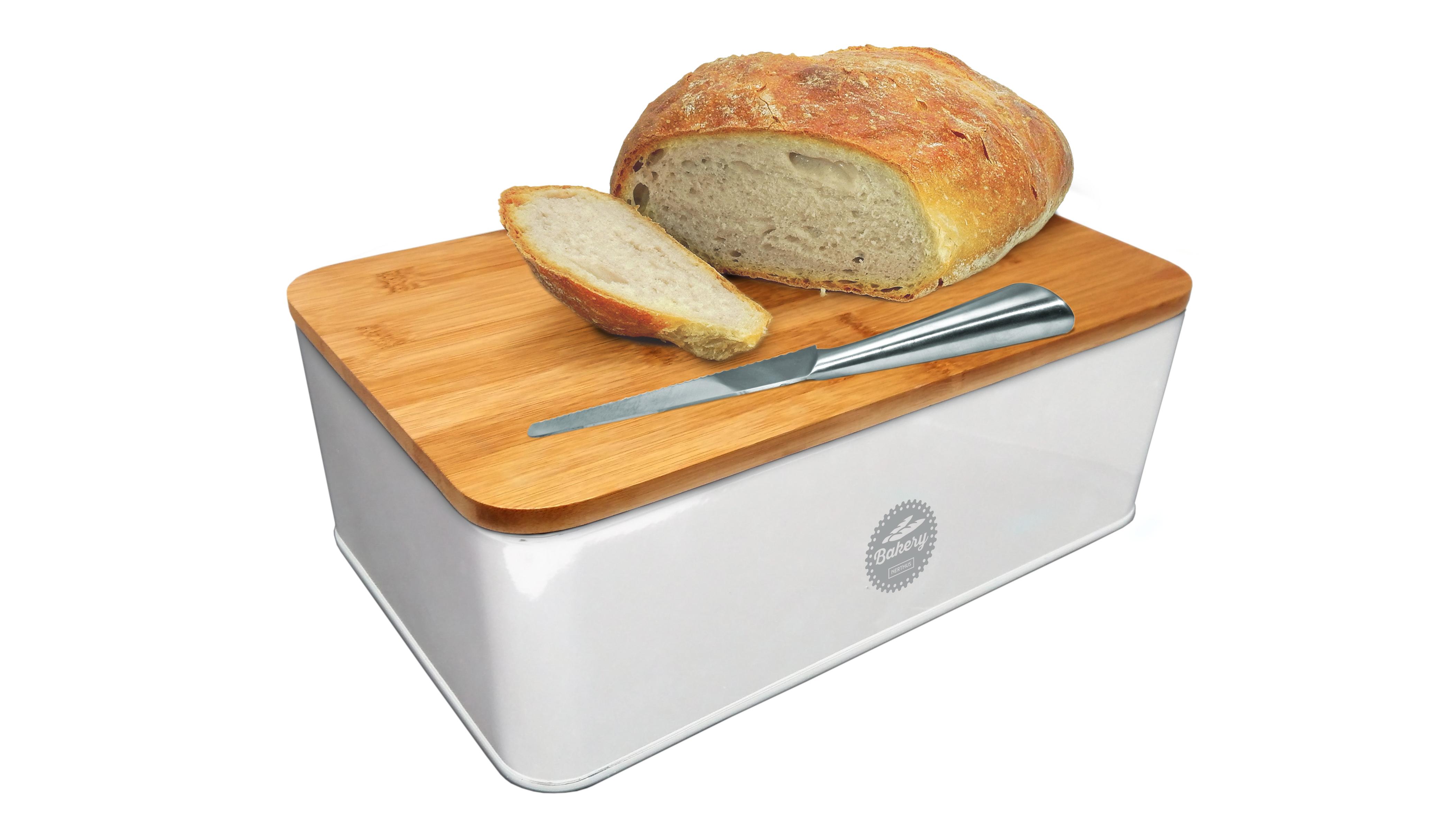 Хлебница Rich Line Home Decor Свежий хлеб 89, белый, коричневый все цены