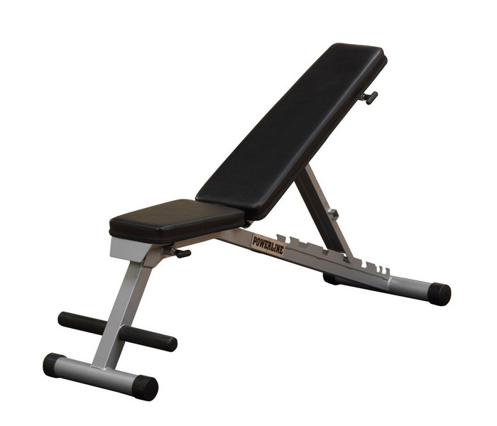 Силовая скамья Body Solid Powerline PFID125/PFID135, черный универсальная скамья для жима body solid powerline pob44