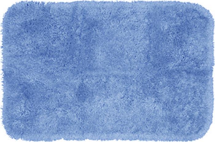 Коврик для ванной Mohawk Plush, голубой, 60 х 100 см