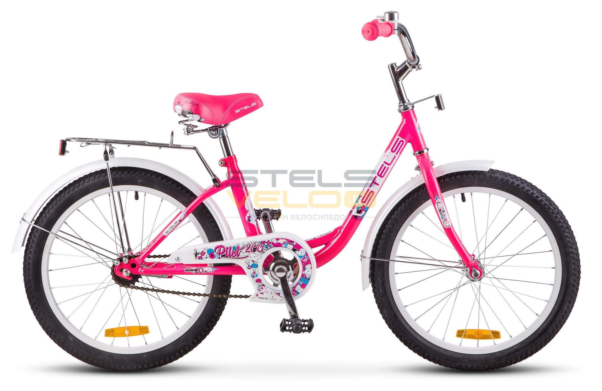 Велосипед Stels Pilot-200 Lady, розовый цена в Москве и Питере