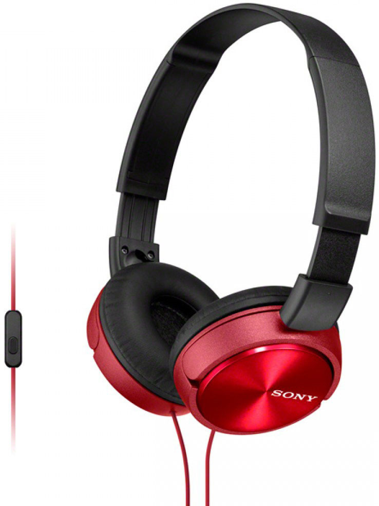 все цены на Sony MDR-ZX310APR, Red гарнитура онлайн
