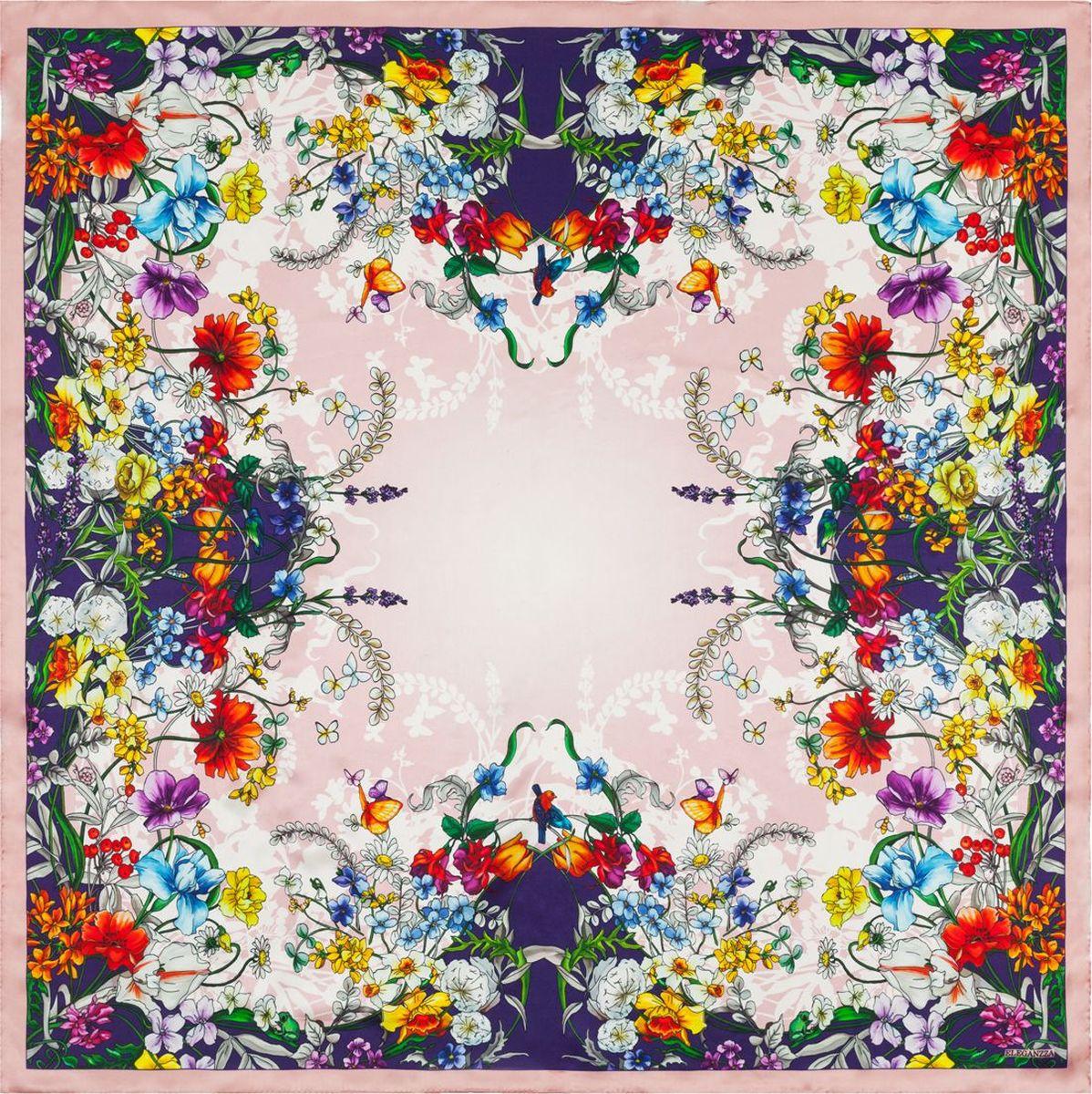 Платок Eleganzza платок женский eleganzza цвет светло серый d34 1219 19 размер 110 х 110 см