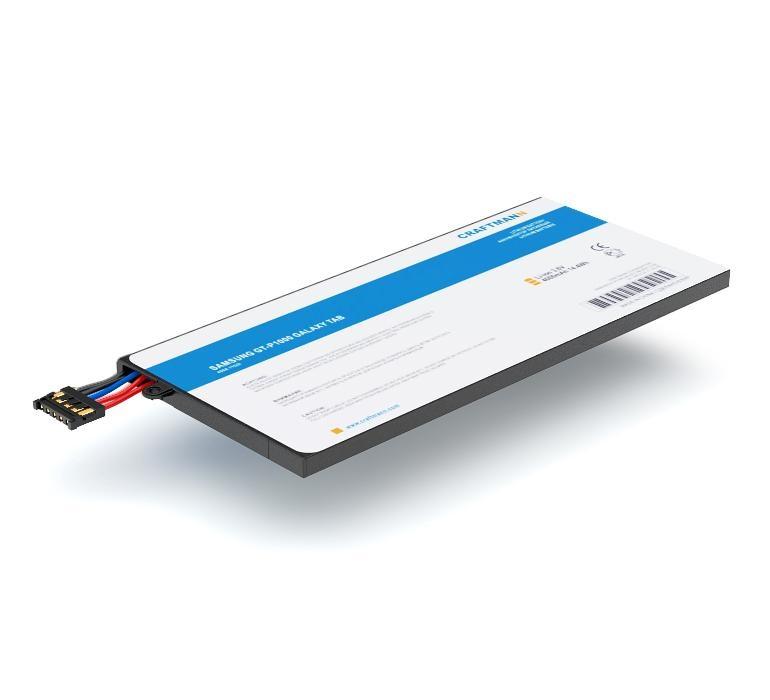 Аккумулятор для планшета Craftmann SP4960C3A для Samsung GT-P1000, GT-P1010 Galaxy Tab