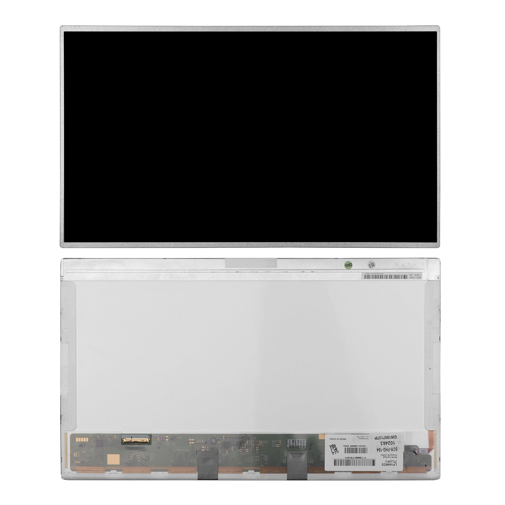 Запчасти для ремонта теле, видео, аудио 16.4 1920x1080 WUXGA FHD 40 pin LED. PN: LP164WD2 (TL)(A1)