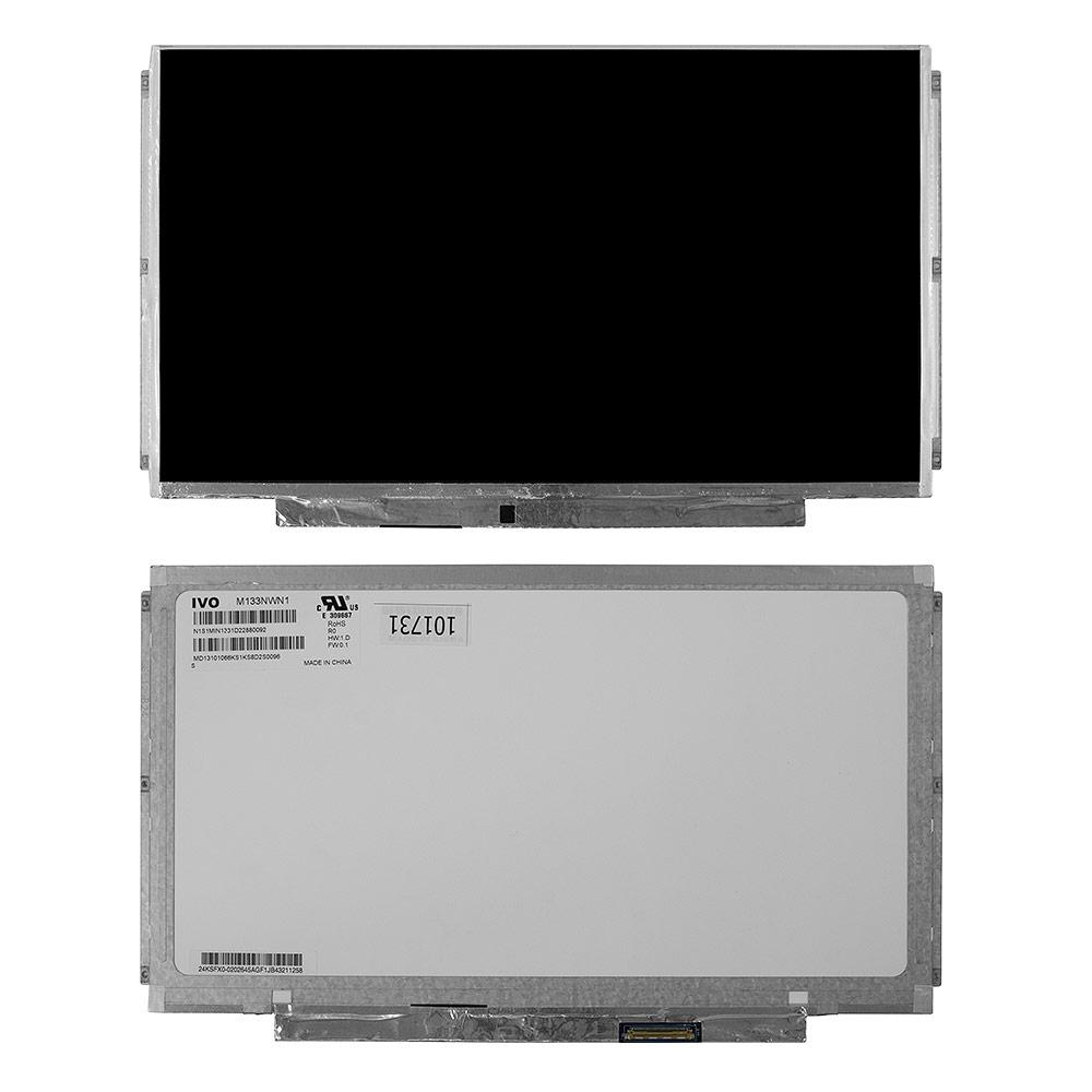 Запчасти для ремонта теле, видео, аудио 13.3 1366x768 WXGA 40 pin Slim крепления планки. Глянцевая. PN: M133NWN1 R0. R1