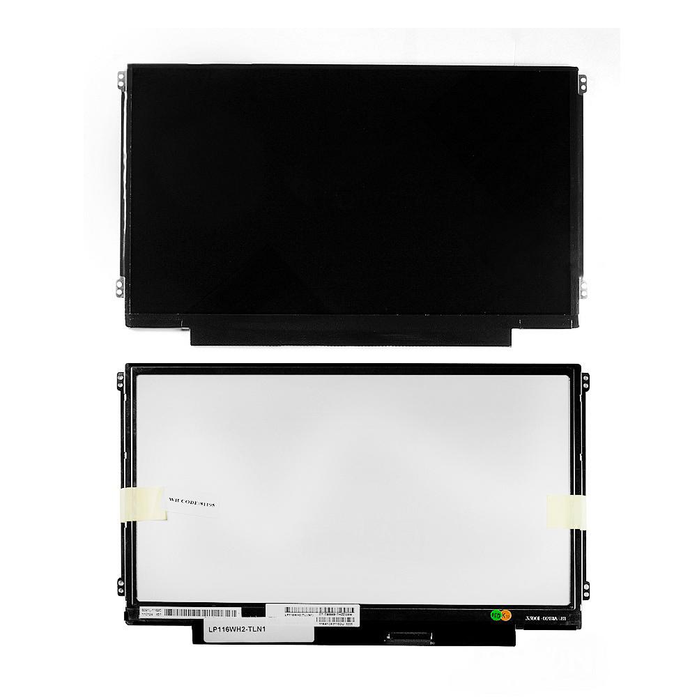 Запчасти для ремонта теле, видео, аудио 11.6 1366x768 WXGA 40 pin Slim LED крепления слева/справа (уши) Глянцевая. PN: N116BGE-L42 LTN116AT01-7 B116XW03 V.0.