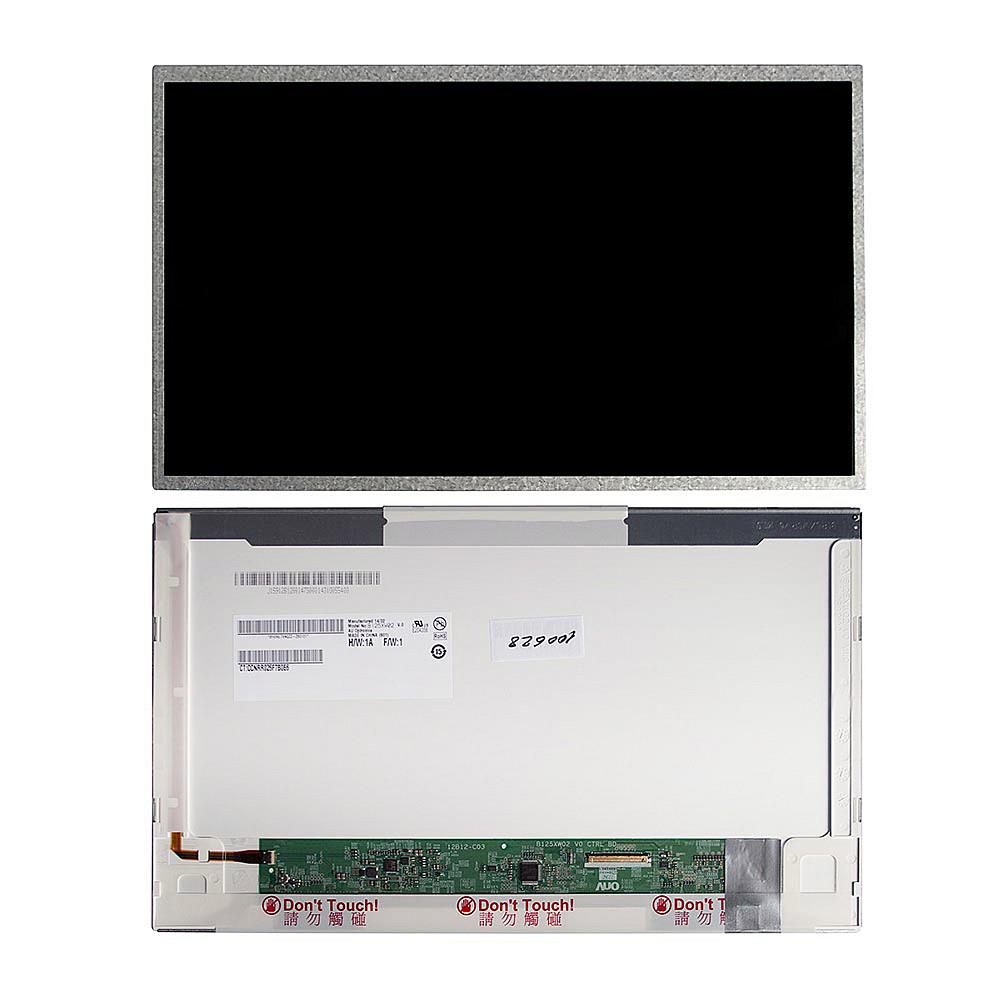 Запчасти для ремонта теле, видео, аудио 12.5 1366x768 WXGA 40 pin LED. Глянцевая. PN: B125XW02 V.0 LTN125AT02-301 LP125WH1.