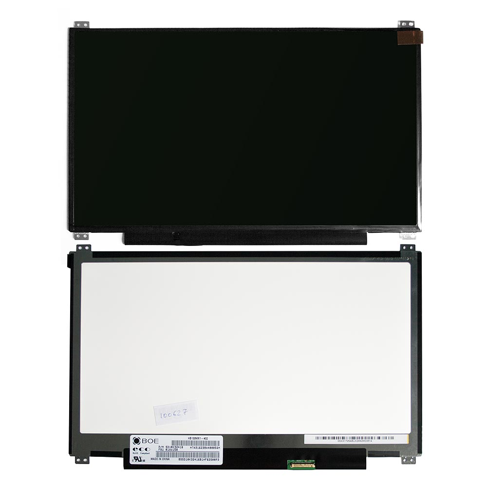 Запчасти для ремонта теле, видео, аудио 13.3 1366х768 WXGA 30pin LED крепления сверху/снизу (уши). Матовая. PN: B133XTN01.2 HB133WX1-402.