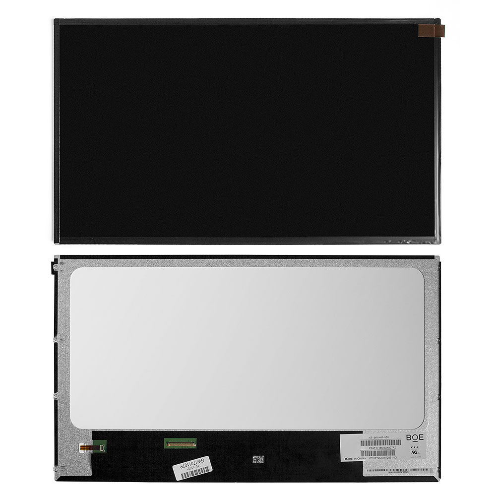 Запчасти для ремонта теле, видео, аудио 15.6 1366x768 WXGA 40 pin LED. Глянцевая. PN: NT156WHM-N50 (BOE).