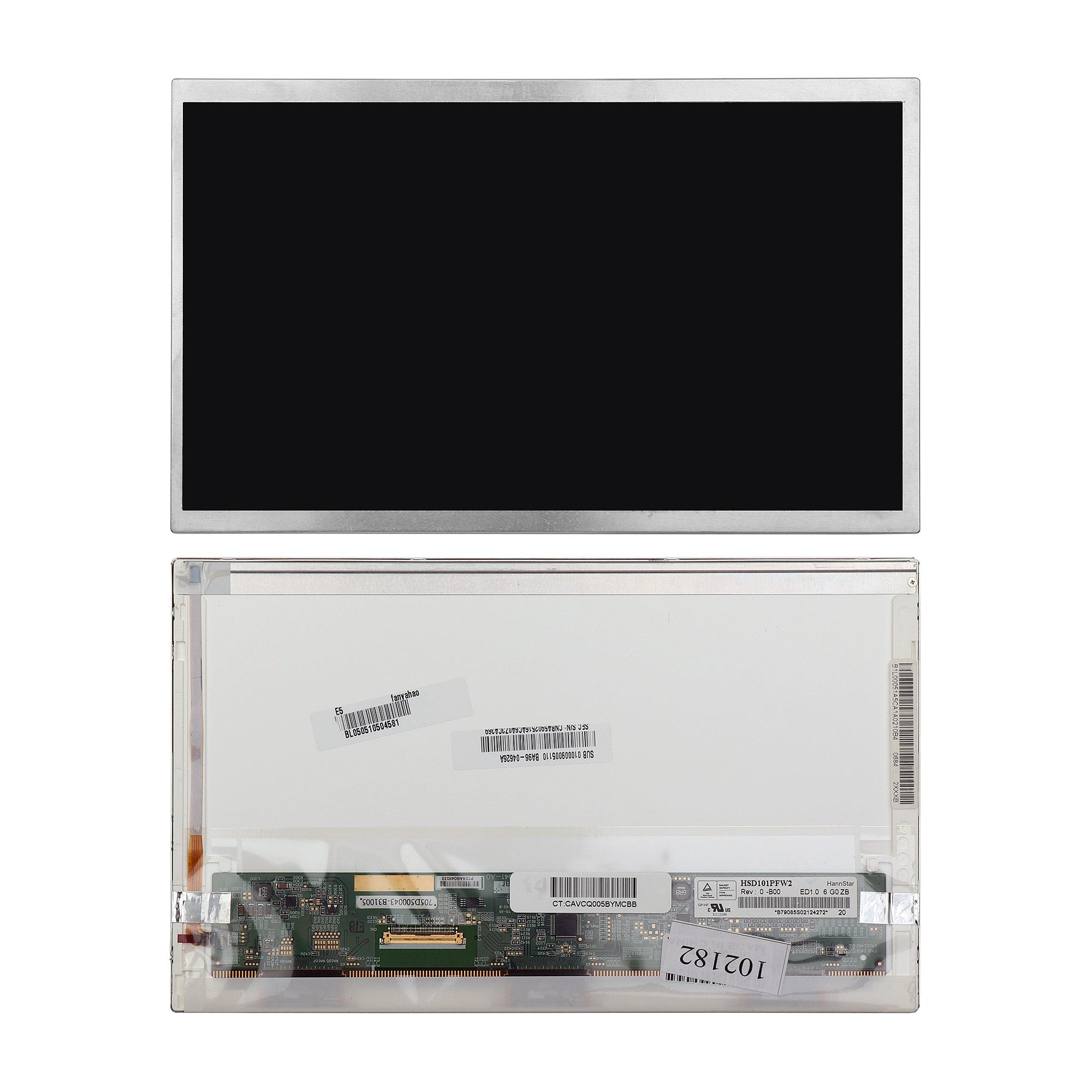 Запчасти для ремонта теле, видео, аудио Матрица ноутбука 10.1 1024x600 WSVGA 40 pin LED. Матовая. PN: CLAA101NC05 N101L6-L0A N101L6-L01 N101LGE-L11.