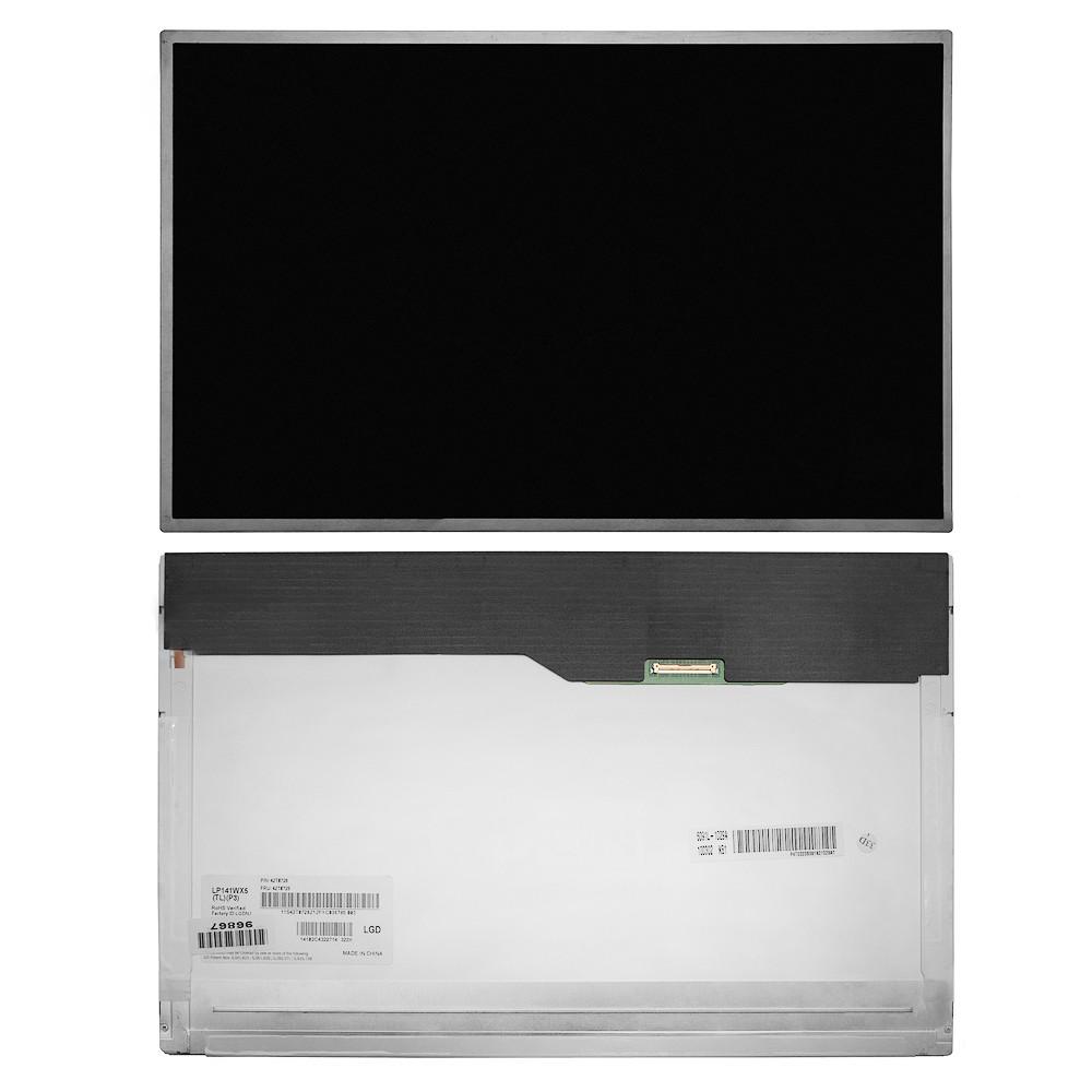 Запчасти для ремонта теле, видео, аудио 14.1 1280x800 WXGA 40 pin LED. Глянцевая. PN: LP141WX5 (TL)(P3) B141EW05 V.4.