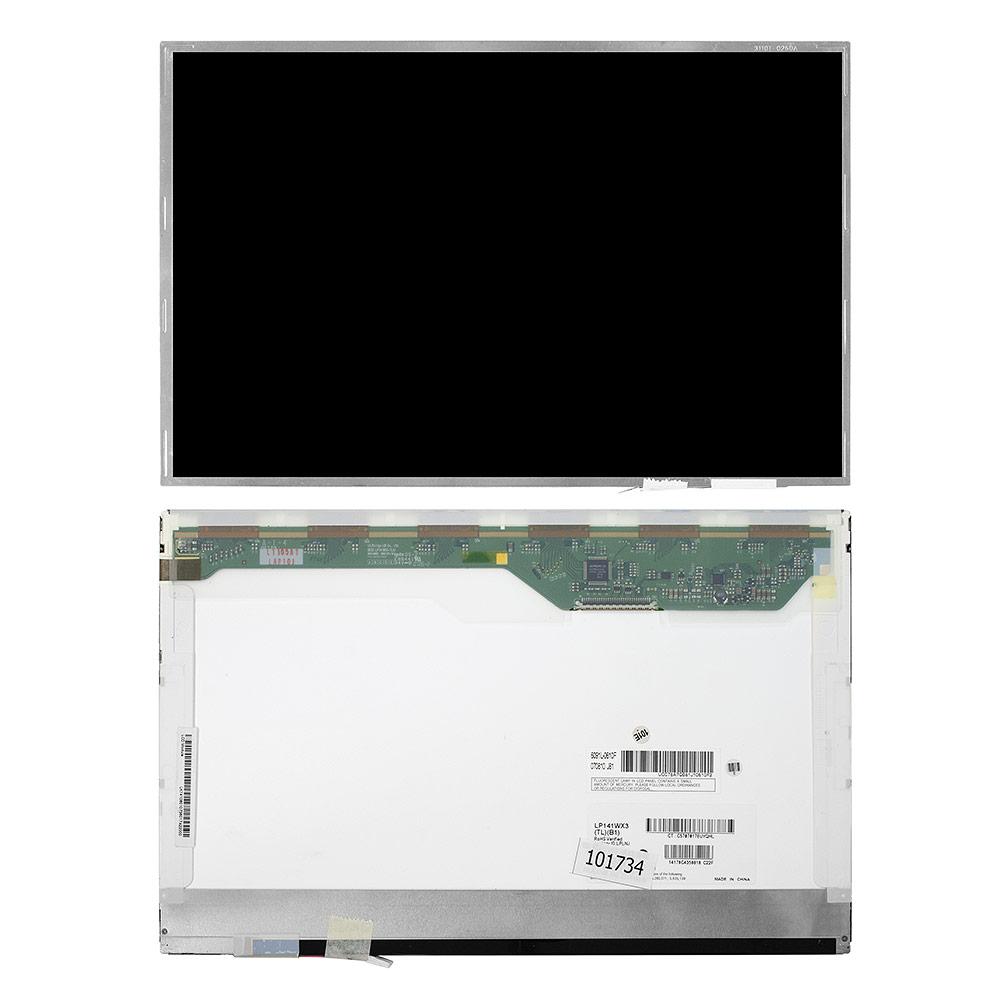 Запчасти для ремонта теле, видео, аудио 14.1 1280x800 WXGA 30 pin 1-CCFL. Глянцевая. PN: LP141WX3 (TL)(B1). R1.