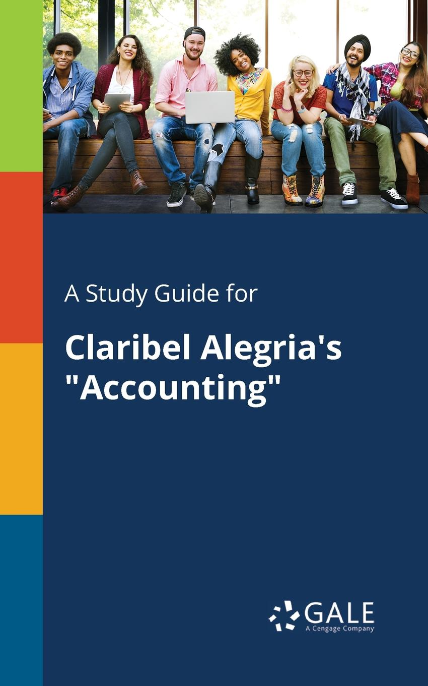 Cengage Learning Gale A Study Guide for Claribel Alegria.s