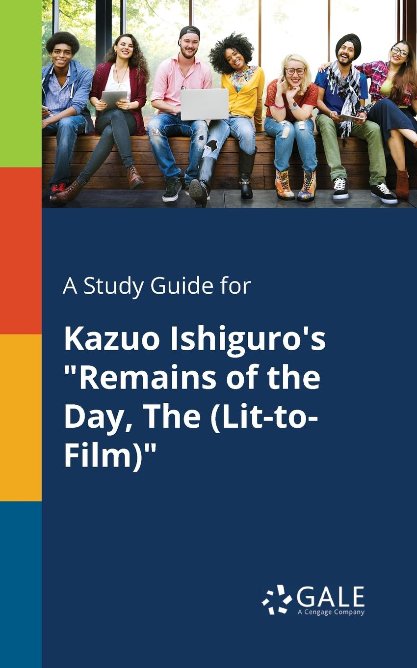 Cengage Learning Gale A Study Guide for Kazuo Ishiguro.s