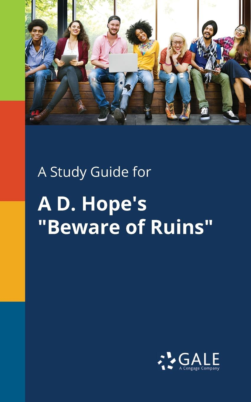 A Study Guide for A D. Hope.s \