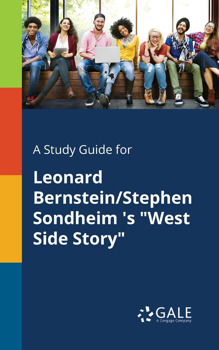 Фото - Cengage Learning Gale A Study Guide for Leonard Bernstein/Stephen Sondheim .s West Side Story concise colour block and circle pattern design men s slippers