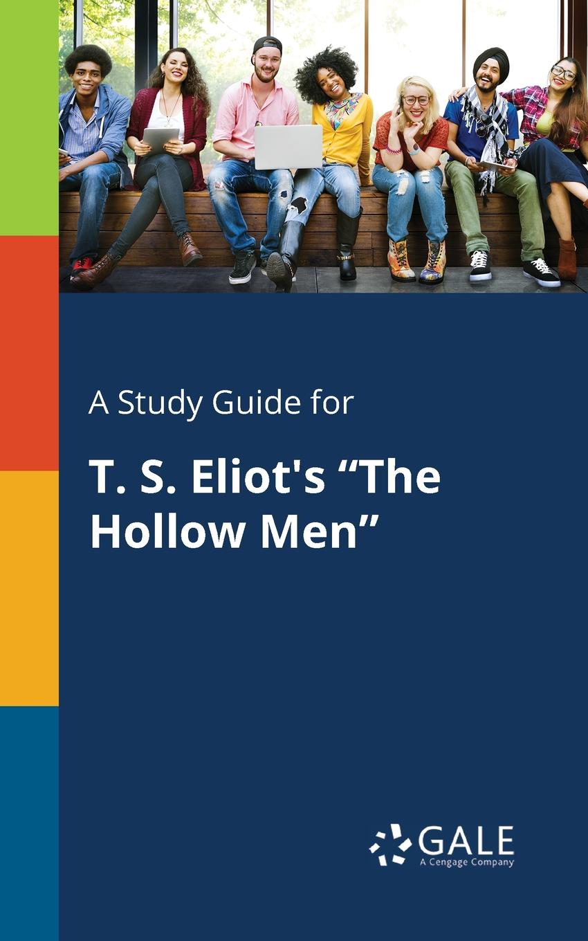 Фото - Cengage Learning Gale A Study Guide for T. S. Eliot.s The Hollow Men concise colour block and circle pattern design men s slippers