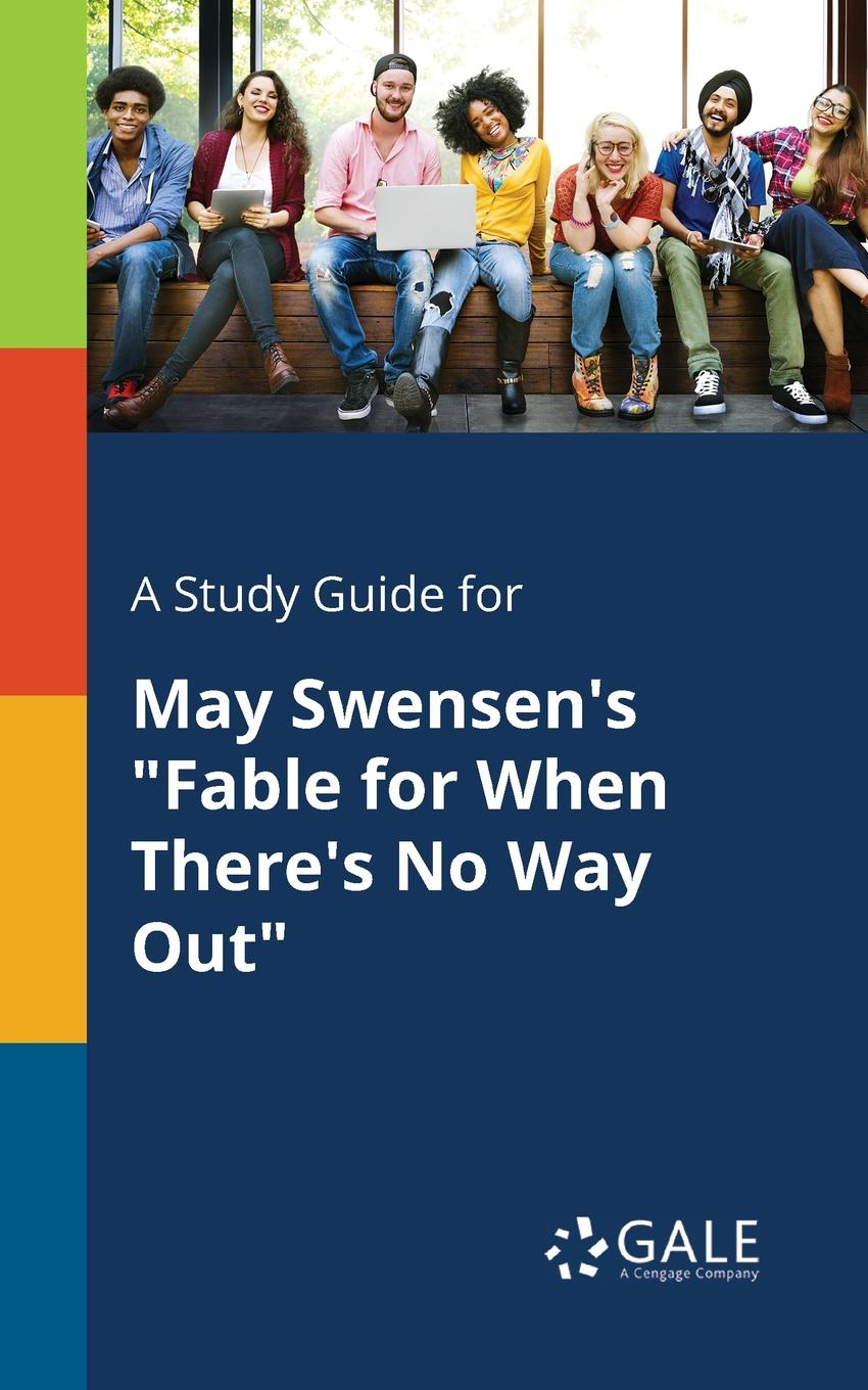 Cengage Learning Gale A Study Guide for May Swensen.s