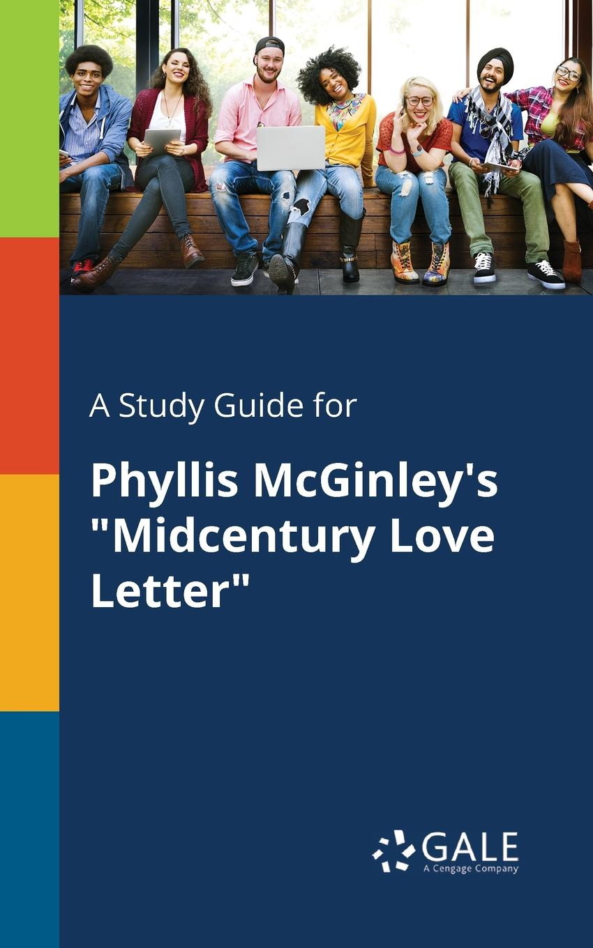 Cengage Learning Gale A Study Guide for Phyllis McGinley.s Midcentury Love Letter stylish rhinestone heart round letter bracelet for women