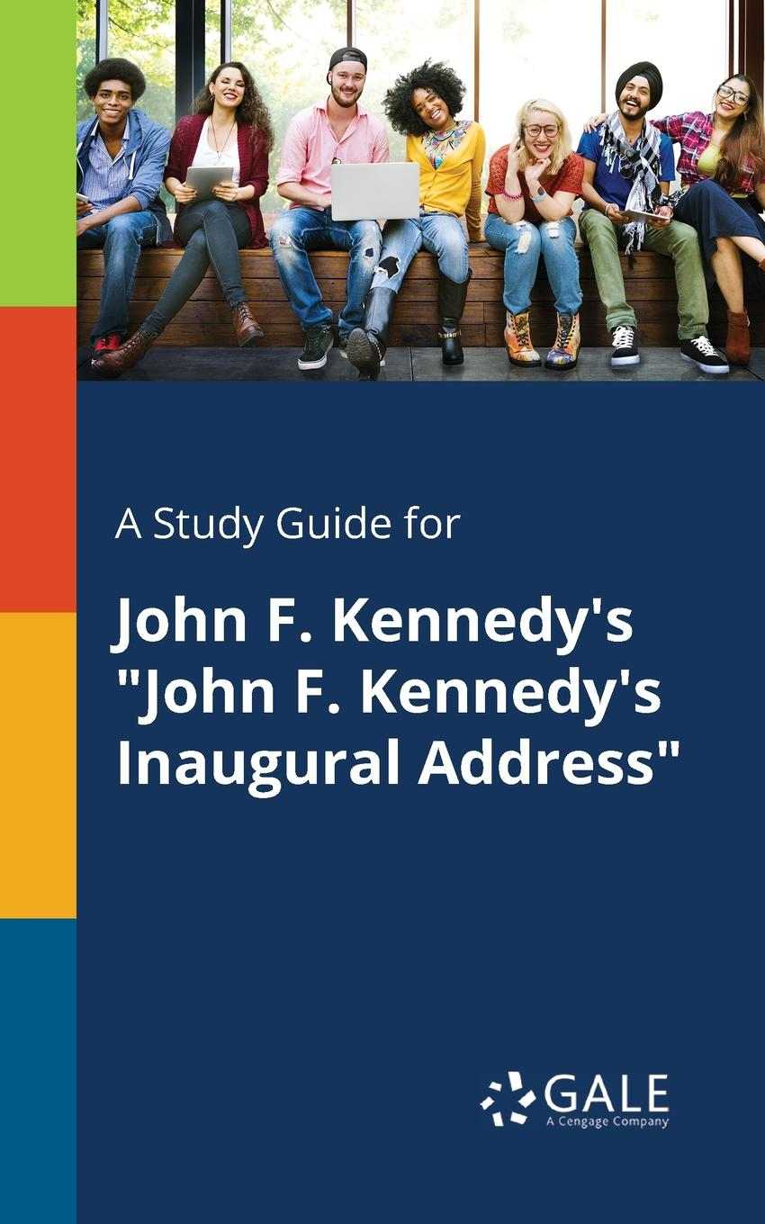 Фото - Cengage Learning Gale A Study Guide for John F. Kennedy.s John F. Kennedy.s Inaugural Address concise colour block and circle pattern design men s slippers