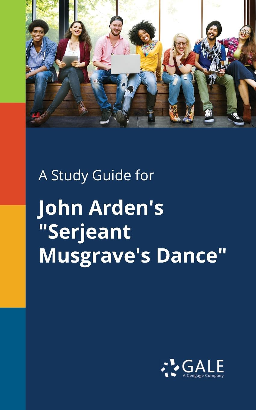 Фото - Cengage Learning Gale A Study Guide for John Arden.s Serjeant Musgrave.s Dance concise colour block and circle pattern design men s slippers