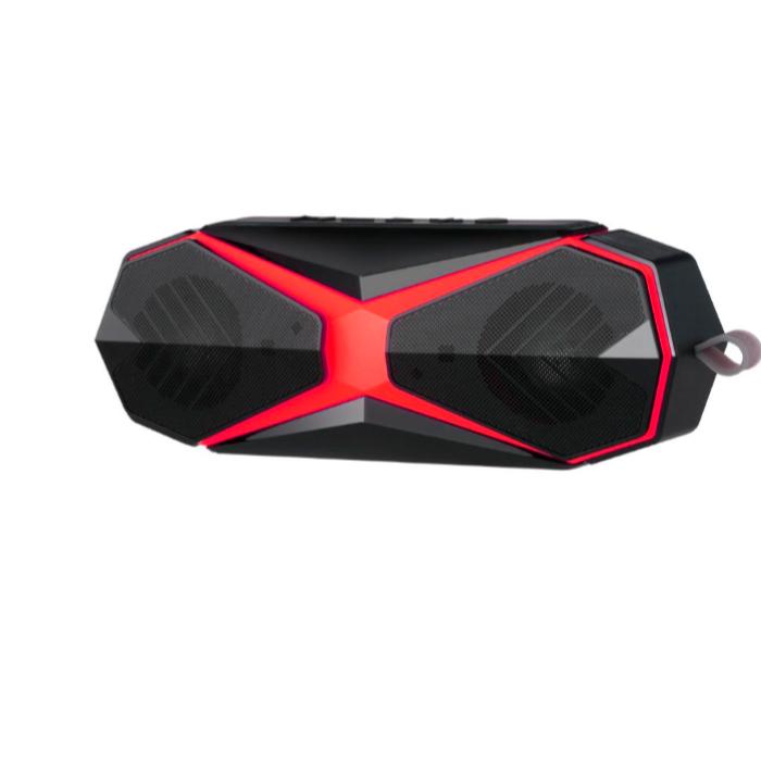 Беспроводная колонка ZDK Outdoor 8W Black-Red, черный, красный беспроводная колонка marklcub j tg605 красный