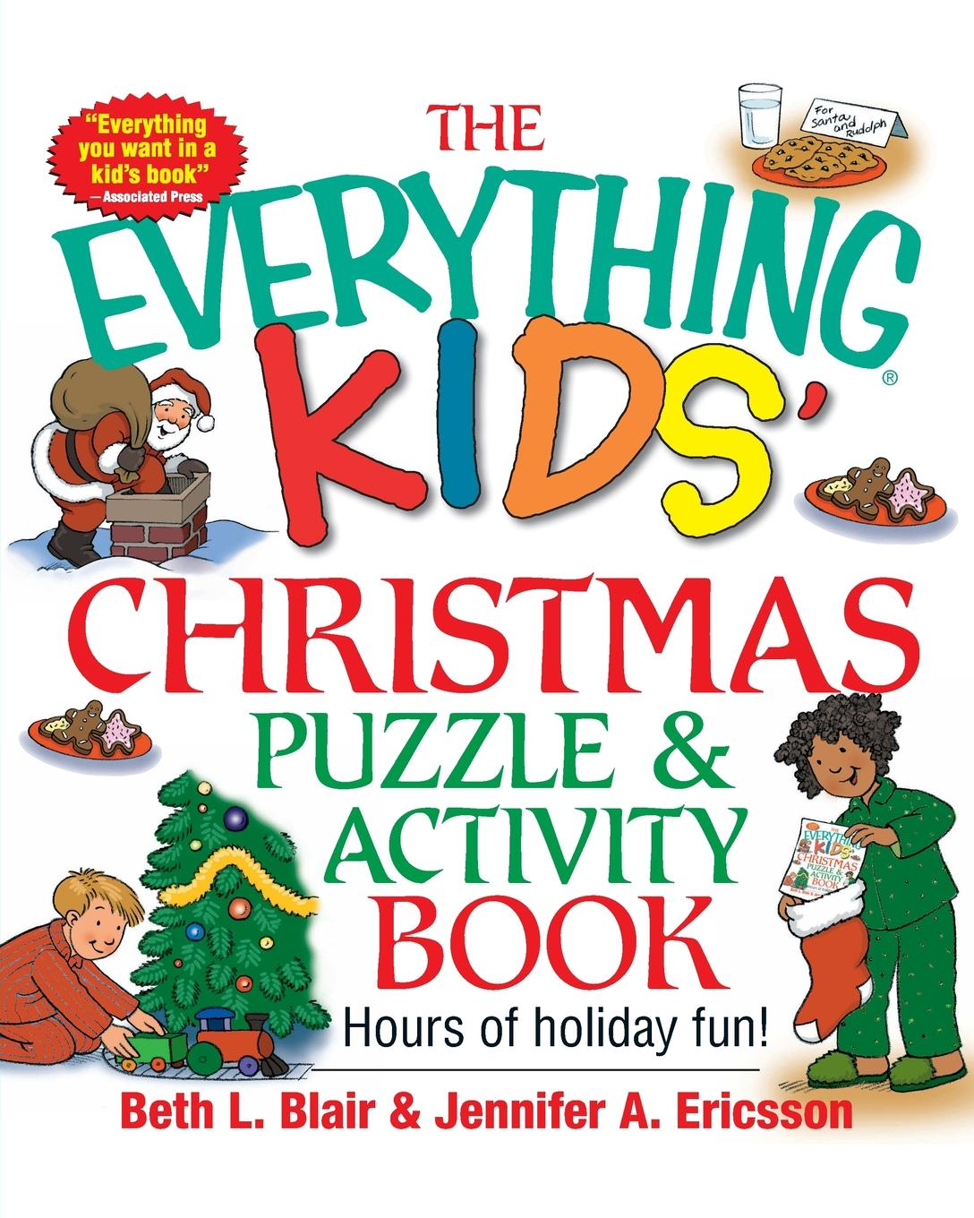 Beth L. Blair, Jennifer A. Ericsson The Everything Kids. Christmas Puzzle and Activity Book. Mazes, Activities, and Puzzles for Hours of Holiday Fun wooden fun ball puzzle toy for kids wood