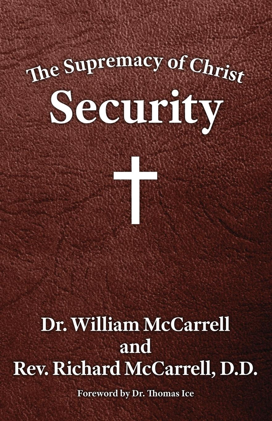 William McCarrell The Supremacy of Christ. Security shelley cooper promises promises