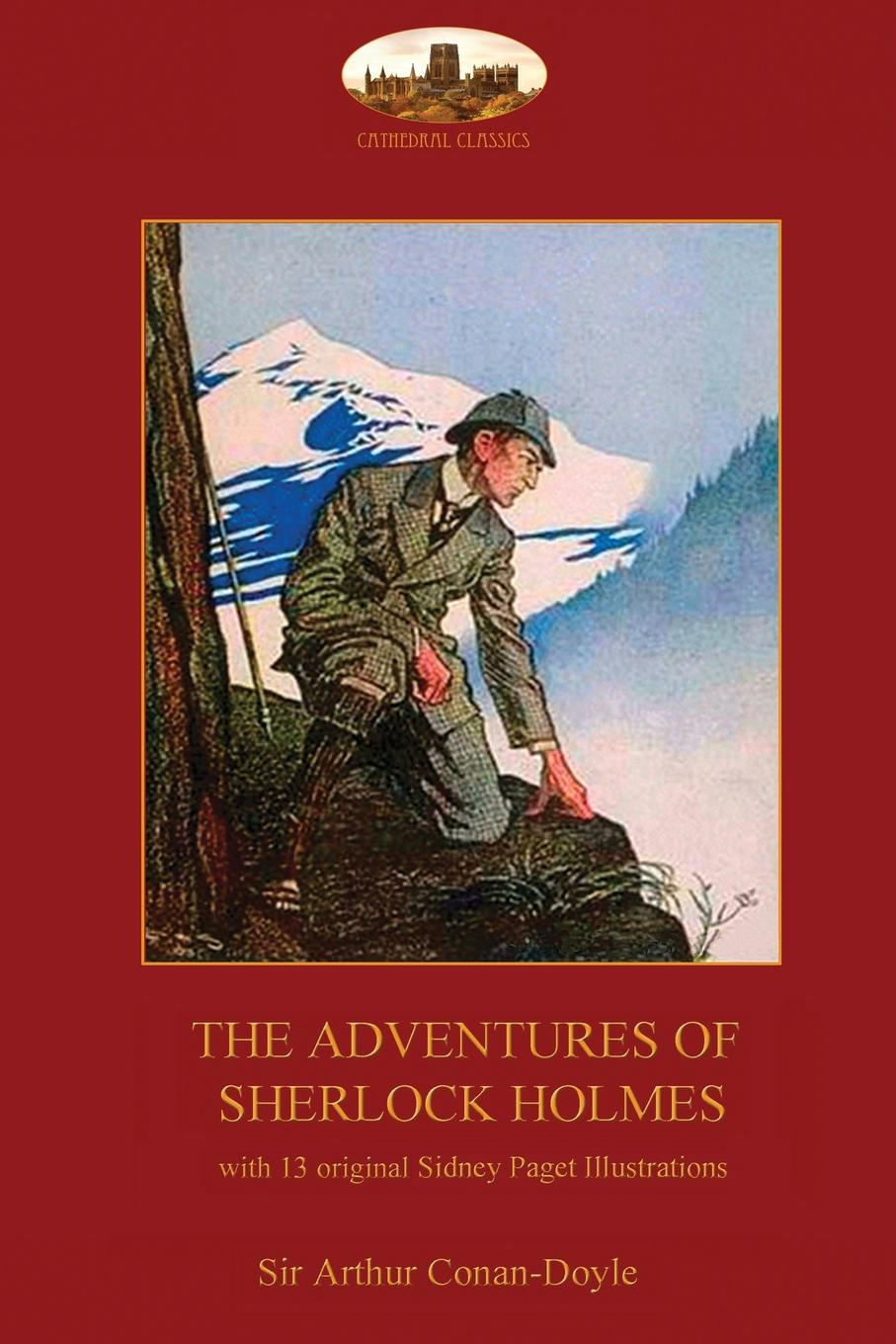 Arthur Conan Doyle The Adventures of Sherlock Holmes. with 13 original Sidney Paget illustrations (2nd. ed.) цена и фото