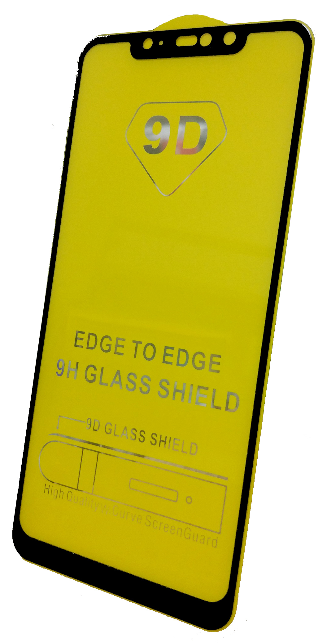 Защитное стекло Xiaomi Redmi Note 6 Pro (Full Glue черная рамка), черный стекло защитное стекло для xiaomi redmi note 6 pro onext
