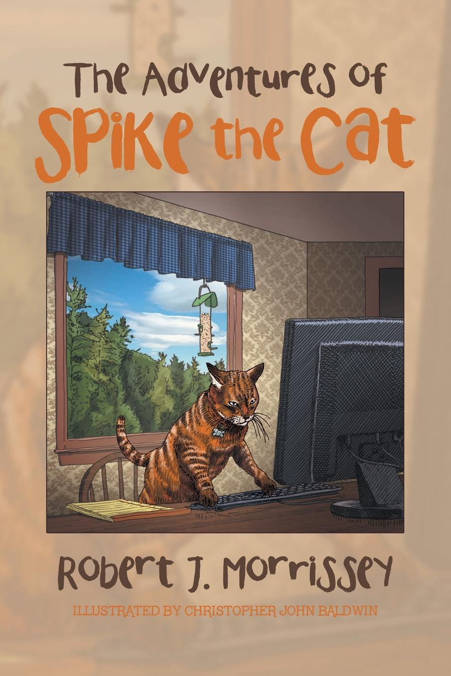 Robert J. Morrissey The Adventures of Spike the Cat the eyes of the cat