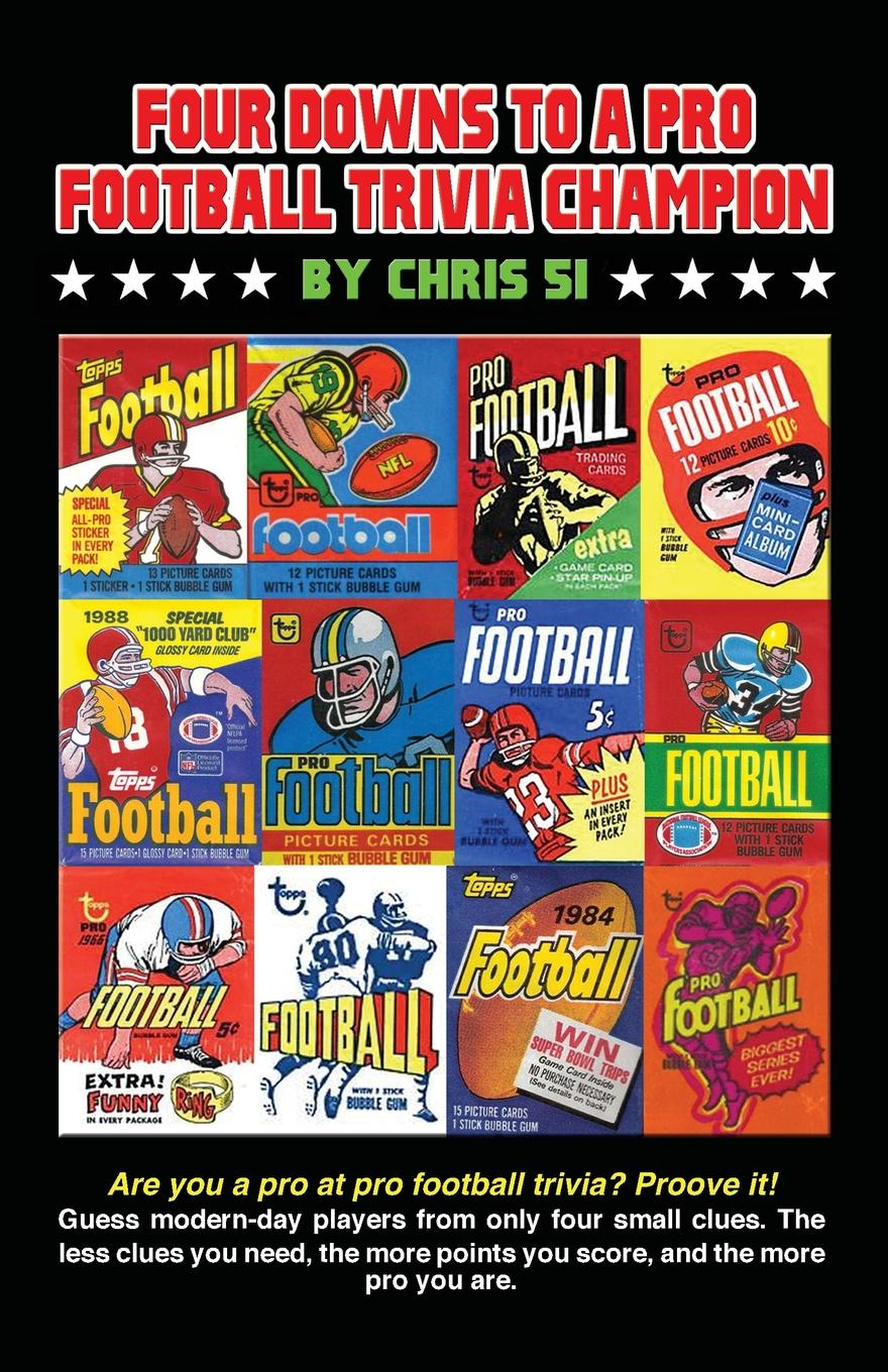 Chris 51 Four Downs to a Pro Football Trivia Champion. Are you a pro at football trivia. Prove it. ask your uncle football trivia