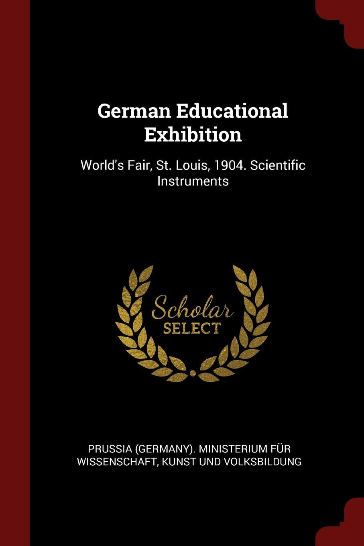 German Educational Exhibition. World.s Fair, St. Louis, 1904. Scientific Instruments