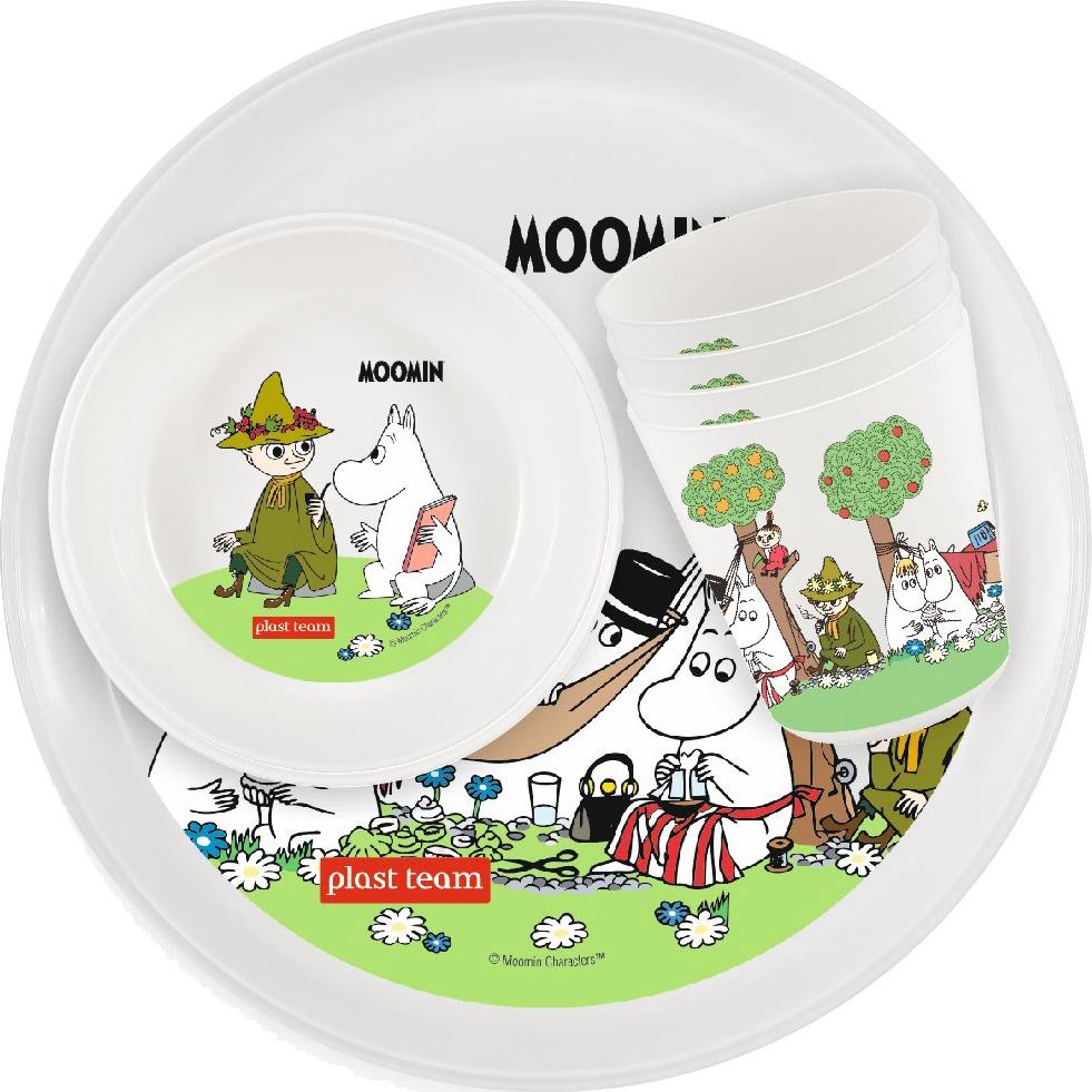 Набор для пикника Plast Team Moomin 1, PT1090, 12 предметов