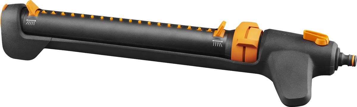 Дождеватель осциллирующий Fiskars, 1027028, черный, оранжевый цена